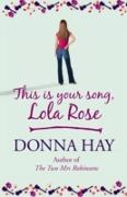 Cover-Bild zu Hay, Donna: This is Your Song, Lola Rose (eBook)