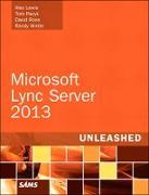 Cover-Bild zu Lewis Alex: Microsoft Lync Server 2013 Unleashed (eBook)