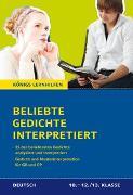 Cover-Bild zu Möbius, Thomas: Beliebte Gedichte interpretiert