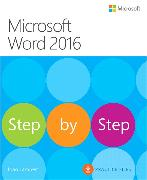 Cover-Bild zu Microsoft Word 2016 Step By Step von Lambert, Joan