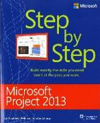 Cover-Bild zu Microsoft Project 2013 Step by Step von Chatfield, Carl