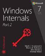 Cover-Bild zu Windows Internals, Part 2 von Russinovich, Mark E.