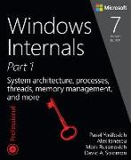 Cover-Bild zu Windows Internals, Part 1 von Russinovich, Mark E.