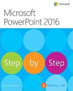 Cover-Bild zu Microsoft PowerPoint 2016 Step by Step von Lambert, Joan