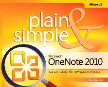 Cover-Bild zu Microsoft OneNote 2010 Plain & Simple von Weverka, Peter