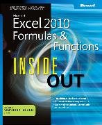 Cover-Bild zu Microsoft Excel 2010 Formulas and Functions Inside Out von Jeschke, Egbert