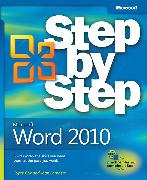 Cover-Bild zu Microsoft Word 2010 Step by Step von Lambert, Joan