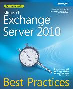Cover-Bild zu Microsoft Exchange Server 2010 Best Practices von Stidley, Joel