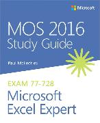 Cover-Bild zu MOS 2016 Study Guide for Microsoft Excel Expert von McFedries, Paul
