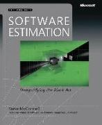 Cover-Bild zu Software Estimation von McConnell, Steve