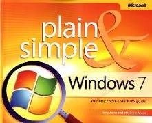 Cover-Bild zu Windows 7 Plain & Simple von Joyce, Gerald