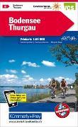 Cover-Bild zu Bodensee, Thurgau Velokarte Nr. 2. 1:60'000