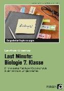 Cover-Bild zu Last Minute: Biologie 7. Klasse von Dziomba, Rebecca