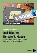 Cover-Bild zu Last Minute: Biologie 7. Klasse (eBook) von Dziomba, Rebecca
