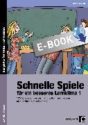 Cover-Bild zu 125 schnelle Spiele für ein besseres Lernklima (eBook) von Spellner, Cathrin