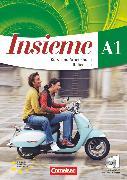 Cover-Bild zu Insieme, Italienisch, Aktuelle Ausgabe, A1, Kurs- und Arbeitsbuch, Sprachführer und Hörtexte-CDs von Colombo, Federica