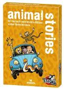 Cover-Bild zu black stories junior - animal stories