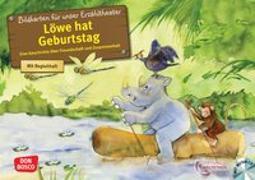 Cover-Bild zu Löwe hat Geburtstag. Kamishibai Bildkartenset von Weltethos, Stiftung