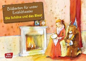 Cover-Bild zu Bildkarten für unser Erzähltheater: Die Schöne und das Biest von Lefin, Petra (Illustr.)