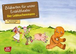 Cover-Bild zu Der Lebkuchenmann von Lefin, Petra (Illustr.)