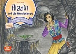 Cover-Bild zu Aladin und die Wunderlampe. Kamishibai Bildkartenset von Luzán, Karina (Illustr.)