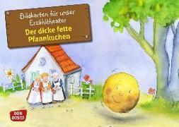 Cover-Bild zu Der dicke fette Pfannkuchen. Kamishibai Bildkartenset von Lefin, Petra (Illustr.)