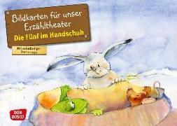 Cover-Bild zu Die Fünf im Handschuh. Kamishibai Bildkartenset von Lefin, Petra (Illustr.)