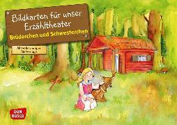 Cover-Bild zu Brüderchen und Schwesterchen. Kamishibai Bildkartenset von Grimm, Brüder