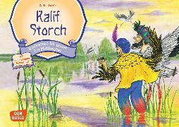 Cover-Bild zu Kalif Storch. Kamishibai Bildkartenset von Hauff, Wilhelm