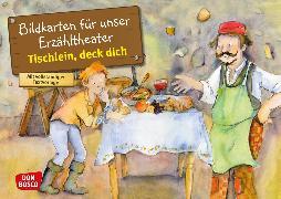 Cover-Bild zu Tischlein, deck dich. Kamishibai Bildkartenset von Grimm, Brüder