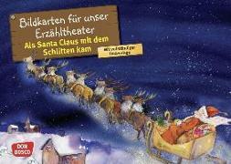 Cover-Bild zu Als Santa Claus mit dem Schlitten kam. Kamishibai Bildkartenset von Brandt, Susanne
