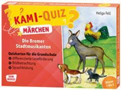 Cover-Bild zu Kami-Quiz Märchen: Die Bremer Stadtmusikanten von Fell, Helga