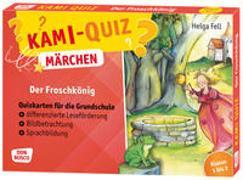 Cover-Bild zu Kami-Quiz Märchen: Der Froschkönig von Fell, Helga
