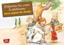 Cover-Bild zu Jesus segnet die Kinder. Kamishibai Bildkartenset von Brandt, Susanne