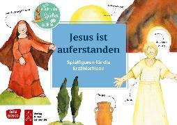 Cover-Bild zu Jesus ist auferstanden. Spielfiguren für die Erzählschiene von Lefin, Petra (Illustr.)
