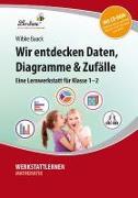 Cover-Bild zu Wir entdecken Daten, Diagramme & Zufälle (Set) von Baack, Wibke