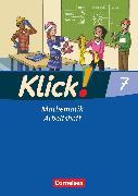 Cover-Bild zu Klick! Mathematik - Mittel-/Oberstufe, Alle Bundesländer, 7. Schuljahr, Arbeitsheft von Friedemann-Zemkalis, Enno
