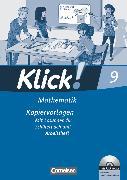 Cover-Bild zu Klick! Mathematik - Mittel-/Oberstufe, Alle Bundesländer, 9. Schuljahr, Kopiervorlagen mit CD-ROM, Auf 3 Niveaustufen von Jacob, Daniel
