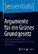 Cover-Bild zu Argumente für ein Grünes Grundgesetz (eBook) von Theurer, Jochen