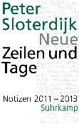 Cover-Bild zu Sloterdijk, Peter: Neue Zeilen und Tage (eBook)