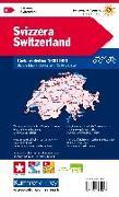 Cover-Bild zu Hallwag Kümmerly+Frey AG (Hrsg.): Schweiz Velokarte 1:301 000. 1:301'000