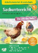 Cover-Bild zu Arbeitsmaterial Grundschule. Sachunterricht. Wie lebt das Huhn? von Stöckl-Bauer, Katharina