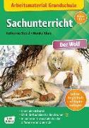 Cover-Bild zu Arbeitsmaterial Grundschule. Sachunterricht. Der Wolf von Stöckl-Bauer, Katharina