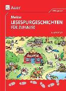 Cover-Bild zu Meine Lesespurgeschichten für Zuhause - Klasse 1/2 von Blomann, Sandra