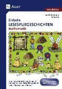Cover-Bild zu Einfache Lesespurgeschichten Mathematik 1/2 von Blomann, Sandra