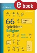 Cover-Bild zu Blumhagen, Doreen: 66 Spielideen Religion (eBook)