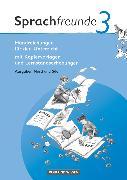 Cover-Bild zu Bonas, Heike: Sprachfreunde, Sprechen - Schreiben - Spielen, Ausgabe Nord/Süd 2010, 3. Schuljahr, Handreichungen für den Unterricht, Mit Kopiervorlagen und Lernstandserhebungen