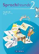 Cover-Bild zu Bonas, Heike: Sprachfreunde, Sprechen - Schreiben - Spielen, Ausgabe Süd 2010 (Sachsen, Sachsen-Anhalt, Thüringen), 2. Schuljahr, Sprachbuch