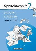 Cover-Bild zu Bonas, Heike: Sprachfreunde, Sprechen - Schreiben - Spielen, Ausgabe Nord/Süd 2010, 2. Schuljahr, Handreichungen für den Unterricht, Mit Kopiervorlagen und Lernstandserhebungen