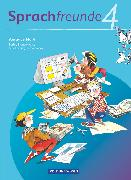 Cover-Bild zu Bonas, Heike: Sprachfreunde, Sprechen - Schreiben - Spielen, Ausgabe Nord 2010 (Berlin, Brandenburg, Mecklenburg-Vorpommern), 4. Schuljahr, Sprachbuch